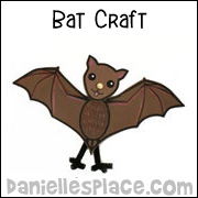 fruit bat craft