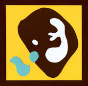 Jean Arp Type Picture for Homeschool Art Lessons