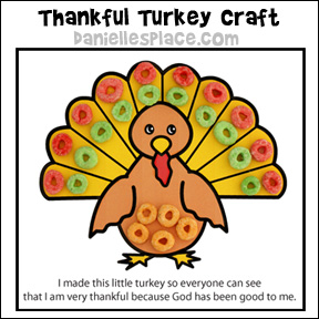 Thankful Turkey Activity Sheet