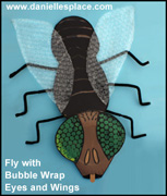 Bubble Wrap Fly's Eyes