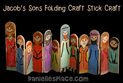 jacobs-son-craft-stick-bible-craft-for-sunday-school www.daniellesplace.com
