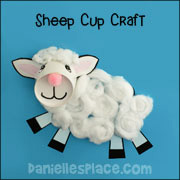 Lamb of God Bible Craft for Sunday School