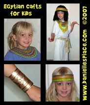 Egyptian Bible Crafts for Kids from www.daniellesplace.com