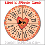 Love Is Spinner Game www.daniellesplace.com