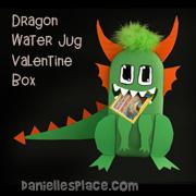 Dragon Valentine Box Kids Can Make From Www.daniellesplace.com