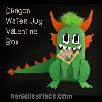 Dragon Valentine Box Kids Can Make