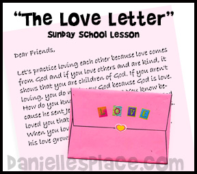 The Love Letter www.daniellesplace.com