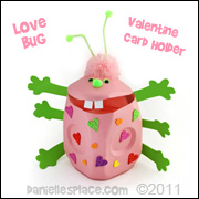 Milk Jug Valentine Day Craft