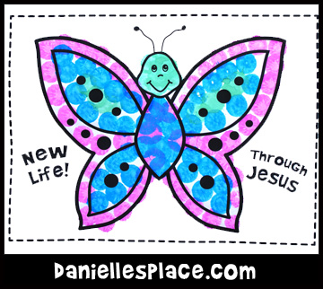 New Life Butterfly Craft Kids Can Make