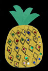 sunday school pretty pineapples to decorated bulletin board bible craft from www.daniellesplace.com