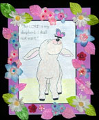 I Shall Not Want Sheep Bible Craft for Kids