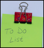 binder clip craft