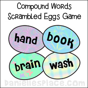 Compound Word Scramble Game