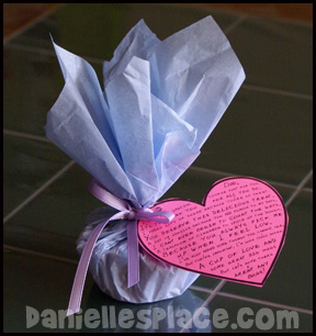 Cookie Filled with Love Craft for Father's Day www.daniellesplace.com