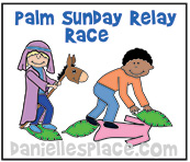 Palm Sunday Relay Race