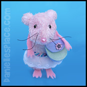 mouse sock craft for kids