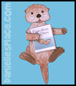 printable otter book