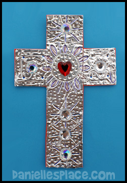 Savior cross craft for Vacation bible school crafts for adults
