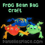 Frog Bean Bag Toss Game from www.daniellesplace.com