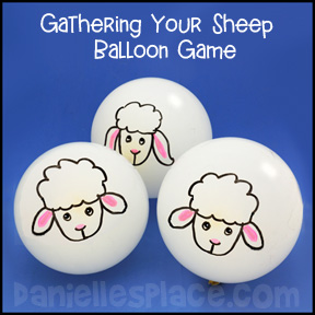 Gathering Your Sheep Balloon Game from www.daniellesplace.com