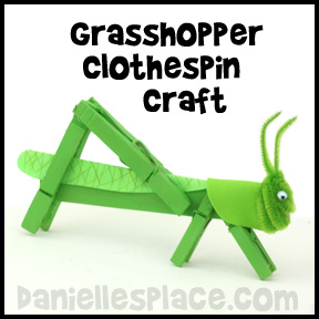 Grasshopper Crafts And Learning Activities
