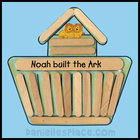 Bible Crafts And Activities Bible Themes Noah S Ark