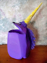 Unicorn Milk Jug Valentine's Day Card Holder