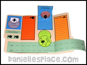 Dung Beetle Lap Book Lesson