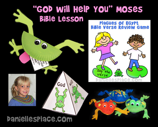 Moses And The Plagues Of Egypt Bible Crafts
