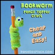 Bookworm craft
