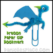 Dragon Paper Clip Craft
