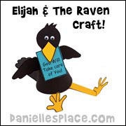 Sitting Raven Craft