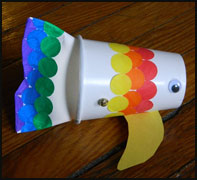 Rainbow Fish Puppet Craft