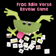 Frog Bible Verse Review Game from www.daniellesplace.com