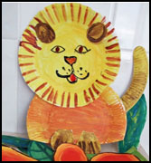 lion paper plate craft  sc 1 st  Danielleu0027s Place & Lion Crafts
