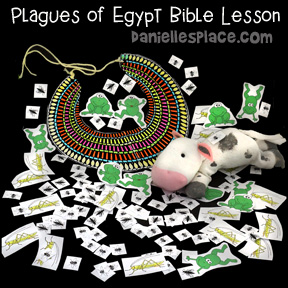 Plagues of Egypt Bible Lesson