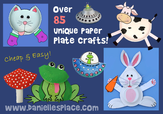 Paper Plate Crafts for Kids from www.daniellesplace.com