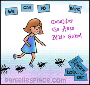 Ant Bible Lesson Game from www.daniellesplace.com