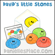 David's Little Stones Bible Craft from www.daniellesplace.com