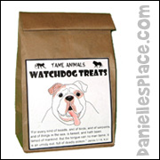 Dog Treat Bag Craft for Sunday School