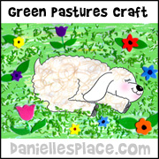 Green Pastures Craft from www.daniellesplace.com