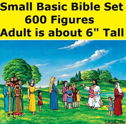 Bible Felt Figures Set for Flannel Board