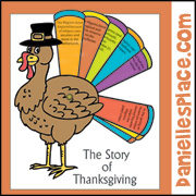 Thanksgiving Story of Thanksgiving Craft from www.daniellesplace.com