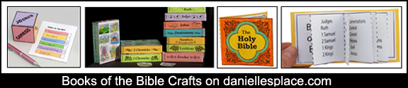 Books of the Bible Crafts and Activities from www.daniellesplace.com
