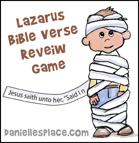 Craft For Lazarus Is Raised
