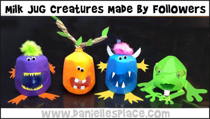 Milk Jug Crafts For Kids