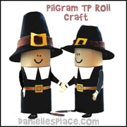 Pilgrim TP Tube Craft from www.daniellesplace.com
