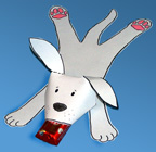 puppy love valentine's day craft