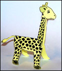 sunday school giraffe craft