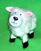 Foam Marshmallow Sheep Bible Craft